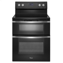 6.7 Total cu. ft. Double Oven Electric Range with True Convection Cooking- IN STORE ONLY (FLOOR MODEL)