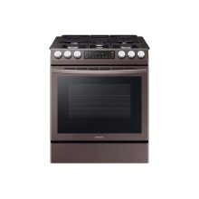 5.8 cu. ft. Slide-in Gas Range with Convection in Tuscan Stainless Steel