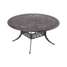 """Kaleidoscope 48"""" Round Dining Table w/ umbrella hole"""