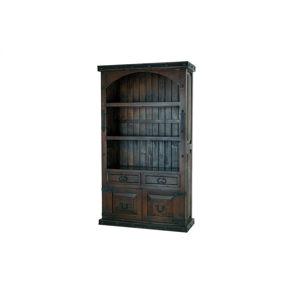 Gran Hacienda Curve Top Cabinet Book Shelf