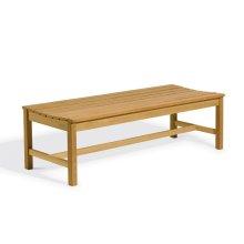 5' Backless Bench - Teak