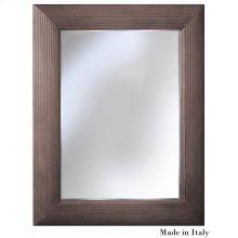 Virna Mirror, Gray Quartz Finish