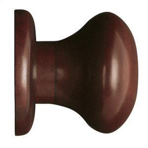 Shape Amalfine, Magnetic Door Stop, Round with a Ebony grip Product Image