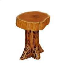 Stump Nightstand - Natural Cedar