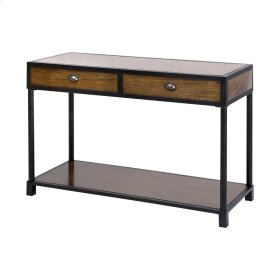 Pendleton Console Table In Antique Brown