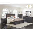 Queen Platform Storage Bed Product Image
