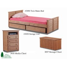 Twin Mates Bed
