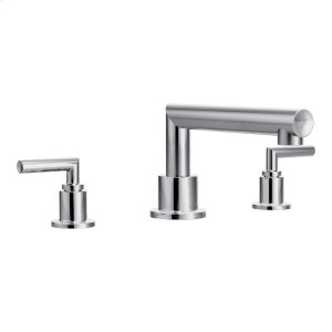 Arris chrome two-handle roman tub faucet Product Image