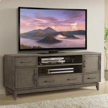 Vogue - 74-inch TV Console - Gray Wash Finish