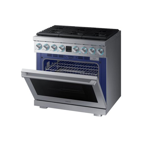 "36"" Dual Fuel Professional Range in Stainless Steel"