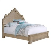 Monterey Queen / King Arched Bed Side Rails in Heritage Taupe