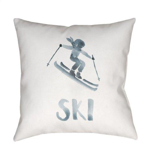 "Ski II SKI-011 18"" x 18"""