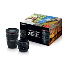 Canon Advanced 2 Lens Kit Double Lens Bundle
