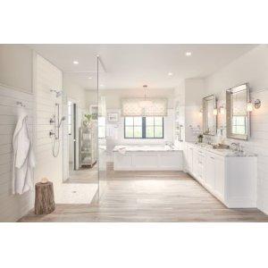 Belfield chrome bath light