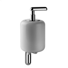 SPECIAL ORDER Wall-mounted liquid soap dispenser - white Gres