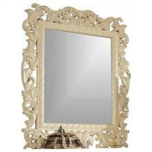 "Novara Pearl White Mirror - 44""W x 51""H"