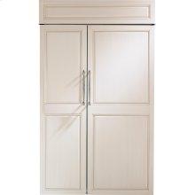 "Monogram 48"" Built-In Side-by-Side Refrigerator"