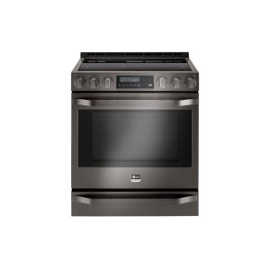 LG STUDIO 6.3 cu. ft. Electric Single Oven Slide-In-range with ProBake Convection® Product Image