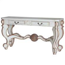 Pompadour Console Table