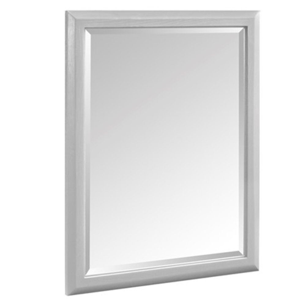 "Charlottesville 28"" Mirror - Light Gray"