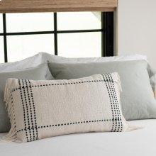 Black Clarke Fringe Pillow