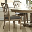 Corinne - Upholstered Diamond Back Side Chair - Sun-drenched Acacia Finish Product Image