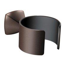 Voss oil rubbed bronze hair dryer holder