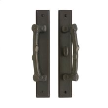 """Stepped Patio Sliding Door Set - 1 3/4"""" x 11"""" Silicon Bronze Brushed"""