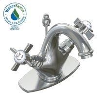 Savina Monoblock Faucet - Polished Chrome