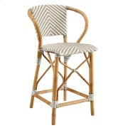 Gray Pearl Counter Stool Product Image