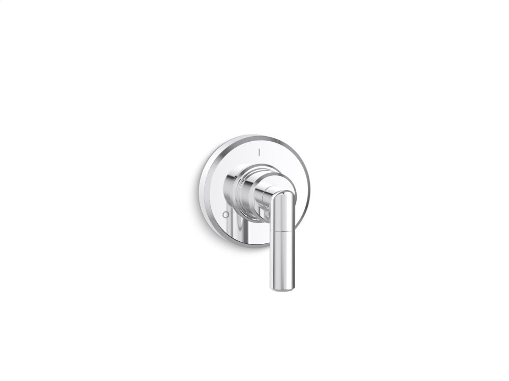 Transfer Trim, Lever Handle - Chrome