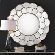 Dahlia Round Mirror