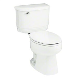 Riverton™ Elongated 2-Piece Toilet with 1.28 GPF and Pro Force® Technology - White Product Image