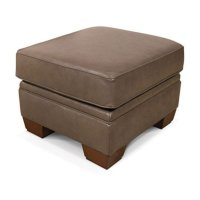 Monroe Leather Ottoman 1437SLS Product Image