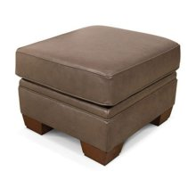 1437SLS Monroe Leather Ottoman