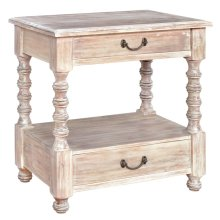 Bengal Manor Mango Wood 2 Drawer Small Console