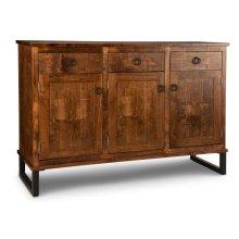 Cumberland Sideboard w/3 Wood Doors & 3/Dwrs & 1/Wood Halfshelf