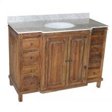 Reclaimed Pine 8-Drawer Vanity