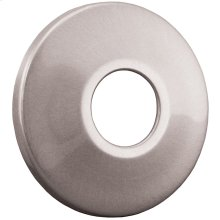 "Brushed Nickel Escutcheon 1/2"" IPS Low Pattern 2-1/2"" OD"