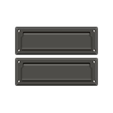 "Mail Slot 8 7/8"" with Back Plate - Oil-rubbed Bronze"