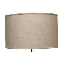 Oatmeal Lamp Shade 15x15x11