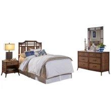 Palm Island 4 PC Twin Bedroom Set