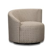 Accent RAF Swivel Chair - (R-Dax Taupe) Product Image