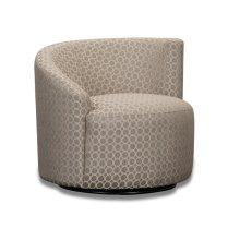 Accent RAF Swivel Chair - (R-Dax Taupe)