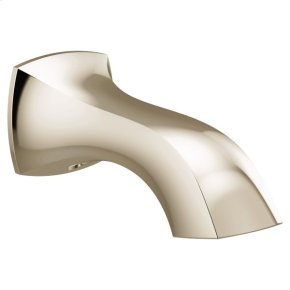 Voss polished nickel nondiverter spouts
