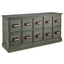 Patina Bin Dresser