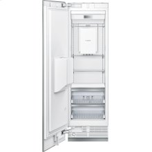 24-Inch Built-in Panel Ready Freezer Column with Ice & Water Dispenser, Left Side Door Swing.