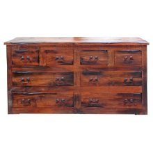 P W O 8 Drawer Dresser