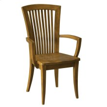 Model 23 Arm Chair Wood Seat