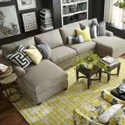 CU.2 Double Chaise Sectional Product Image